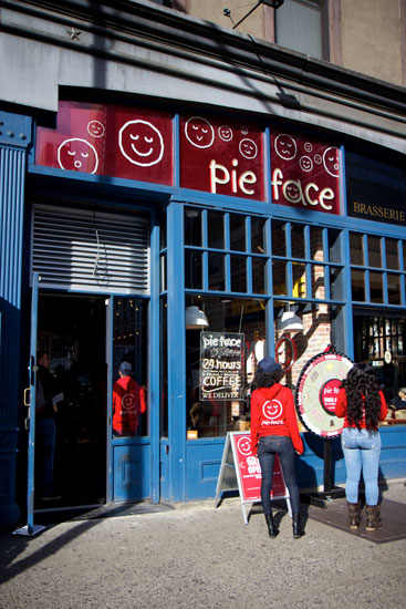 The exterior of the new Pie Face