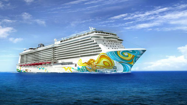 The Norwegian Getaway cruise ship