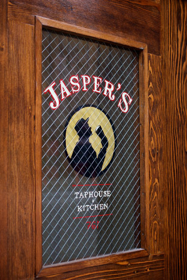 The door at Jasper's Taphouse