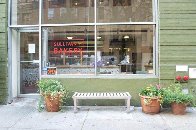 The exterior of Sullivan St Bakery