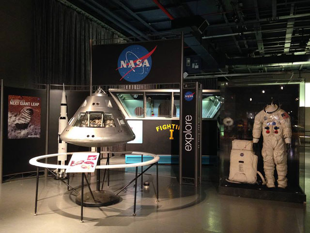 Displays at the Space & Science Festival