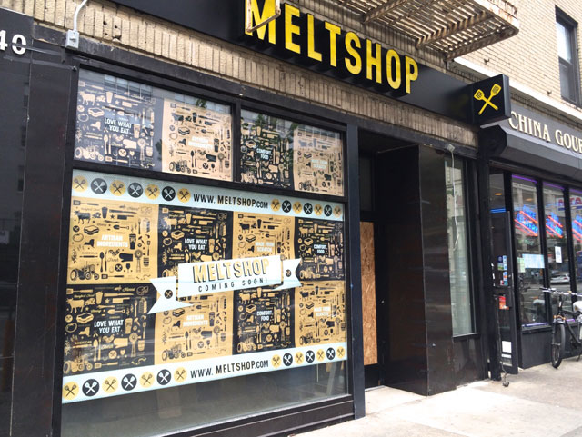 The exterior of the incoming Melt Shop