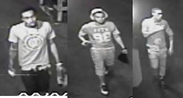 Suspects wanted for the attack on a police officer